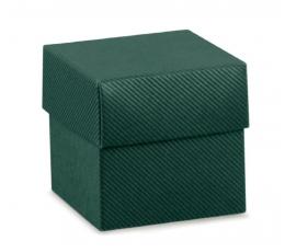 Dėžutė - kvadratinė / žalia (1 vnt./50x50x50 mm)