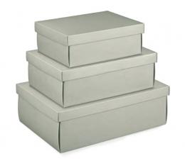 Dėžutė - Linea Tort. pilka (1 vnt./380x260x130 mm.)