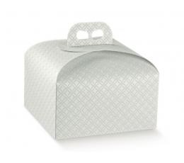 Dėžutė - Mat. Grigio / šv. pilka (1 vnt./245x245x130 mm.)