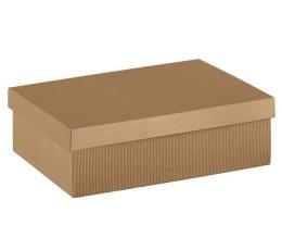 Dėžutė - On.Avana gofruota stačiakampė (1 vnt./400x285x240 mm.)