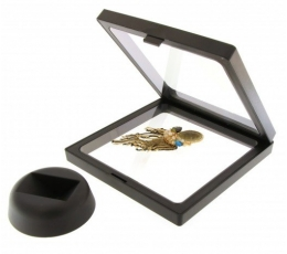Dėžutė - rėmelis / juodas (1 vnt./11x11x2 cm.)
