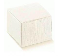 Dėžutė - Seta bianco / balta (1 vnt./100*100*160 mm.)