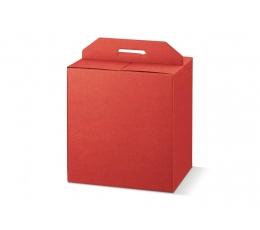 Dėžutė - Seta Rosso stačiakampė /raudona (1 vnt./330x250x350 mm.)