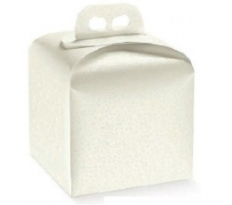 Dėžutė - Sfere Bianco kvadratinė/balta (1 vnt./200x200x180 mm.)