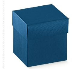 Dėžutė - stačiakampė / mėlyna (1 vnt./100x100x180 mm.)