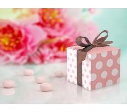 """Dėžutė """"Taškeliai"""" rožinė (10vnt.)"""