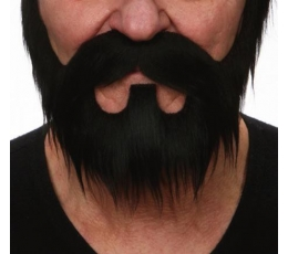 Dirbtinė barzda,ūsai,žandenos (046-MF)