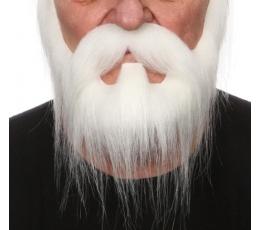 Dirbtinės žandenos ūsai ir barzda (046-LG)
