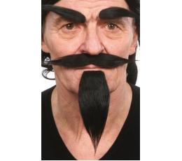 Dirbtiniai ūsai,antakiai,barzda (035-MF)
