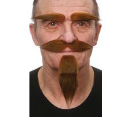Dirbtiniai ūsai,antakiai,barzda (035-MG)