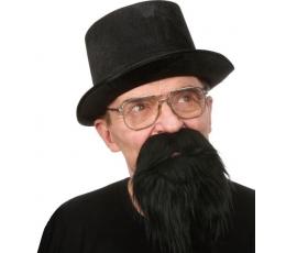 """Dirbtiniai ūsai-barzda """"Piratas"""" (034-MF)"""