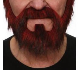 Dirbtiniai ūsai,barzda,žandenos (033-MA)