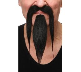 """Dirbtiniai ūsai ir barzda """"Kinietis"""" (038-LH)"""