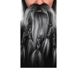 """Dirbtiniai ūsai ir barzda """"Vikingas"""" (061-LF)"""