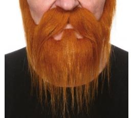 "Dirbtiniai ūsai ir barzda""Karalius"" (046-LB)"