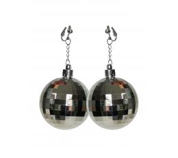 Disco auskarai / sidabriniai (1 vnt.)