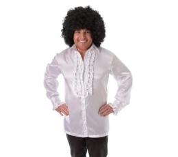Disco stiliaus marškiniai / balti