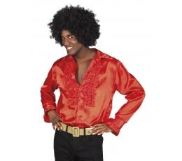 Disco stiliaus marškiniai / raudoni