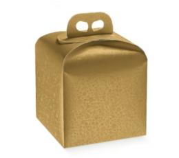 Dovanų dėžutė Sfere Oro / auksinė (1 vnt./200x200x180 mm)