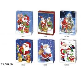 Dovanų maišelis / Kalėdinis (1 vnt./23x32x11 cm.)