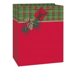 """Dovanų maišelis """"Kalėdos"""" (1 vnt./33x26.5x14 cm.)"""