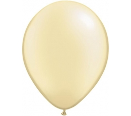 Balionai, šampaniniai perlamutriniai (25 vnt./28 cm.Q11)