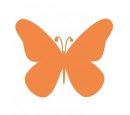 """Drugeliai """"Laimė L""""/ oranžiniai (20 vnt.)"""