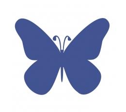 """Drugeliai """"Laimė M""""/mėlyni (20 vnt.)"""