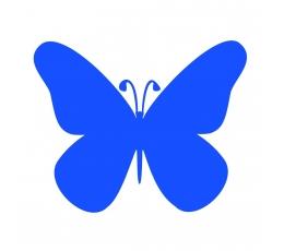 """Drugeliai """"Laimė S""""/mėlyni (20 vnt.)"""