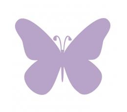 """Drugeliai """"Laimė S""""/ violetiniai (20 vnt.)"""