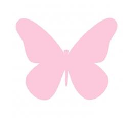 """Drugeliai """"Laimė XS""""/ rožiniai (20 vnt.)"""