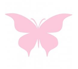 """Drugeliai """"Meilė - L""""/ rožiniai (20 vnt.)"""