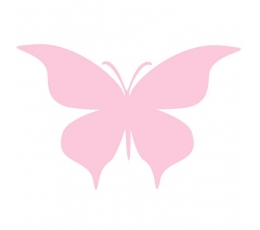 """Drugeliai """"Meilė - S""""/ rožiniai (20 vnt.)"""