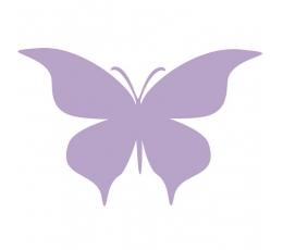 """Drugeliai """"Meilė S""""/ violetiniai (20 vnt.)"""