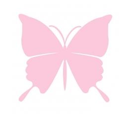 """Drugeliai """"Svajonė L""""/ rožiniai (20 vnt.)"""