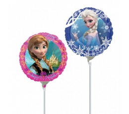 "Folinis balionas ant pagaliuko ""Frozen"" (23 cm)"