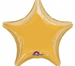 """Folinis balionas """"Auksinė žvaigždutė"""" (23 cm) 0"""