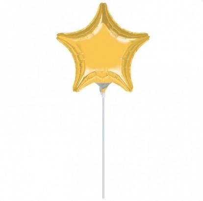 """Folinis balionas """"Auksinė žvaigždutė"""" (23 cm)"""