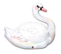 """Folinis balionas """"Gulbė"""" (35"""" 89 cm.)"""