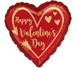 "Folinis balionas ""Happy Valentine's day"" (43cm)"