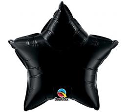 """Folinis balionas """"Juoda žvaigždė"""" (91 cm.)"""