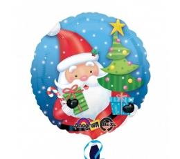 """Folinis balionas """"Kalėdų senelis"""" (17"""" 43 cm.)"""