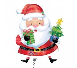 """Folinis balionas """"Kalėdų senelis"""" (31*26 /78*66 cm.)"""