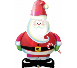 """Folinis balionas """"Kalėdų senelis"""" (37"""" 94 cm.)"""