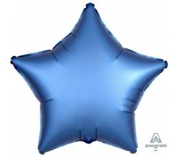 """Folinis balionas """"Mėlyna žvaigždė"""" (19"""" 48 cm.)"""