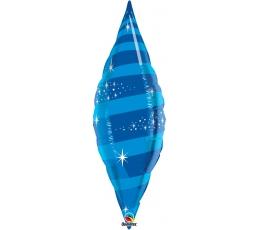 """Folinis balionas """"Mėlynas lapas"""" (30x106cm.)"""