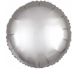 """Folinis balionas """"Pilkas apskritimas"""" (43 cm.)"""