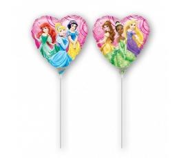 """Folinis balionas ant pagaliuko """"Princesės"""" (23 cm)"""