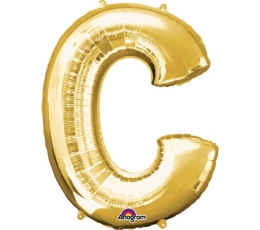 "Folinis balionas raidė ""C"" (1 vnt./32""81 cm.)"