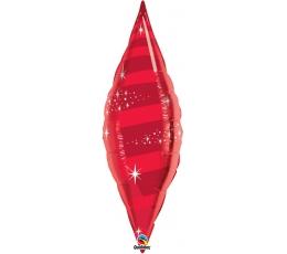 """Folinis balionas """"Raudonas lapas"""" (30x106cm.)"""